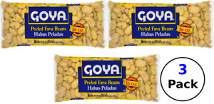 Goya - Peeled Fava Beans - 16 oz - 3 Pack