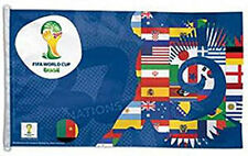 3 x 5 ft. FIFA World Cup 2014, Polyester Flag, Made in USA