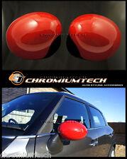 MINI Cooper/S R55 R56 R57 R58 R59 R60 R61 RED MIRROR Cap Covers for Manual Fold