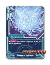 Buddyfight x 4 Energy of Universe [H-BT04/0102EN C] English Mint Future Card
