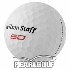 50 WILSON FIFTY ELITE 2016 AAAAA - GOLFBÄLLE - PEARLSELECTION -WIE NEU