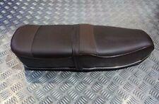 Lambretta Pegasus Brown Seat With Steel Trim Stunning Quality