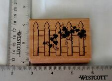 Picket Fence with Ivy by stampcraft # 440H11 New