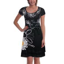 "Brand New Desigual collection Elegant & Stylish dress ""Sukeinka"" Black Small"