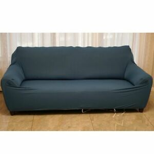 Solid Color Sofa Cover Big Elasticity Stretch Couch Cover Loveseat Sofa Corner