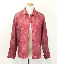 Gorgeous Red Lightweight Jacket Unlined & Washable Women's Size S / M