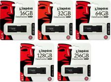 Kingston DT100G3 16GB 32GB 64GB 128GB 256GB DataTraveler 100 G3 USB3.0 Drive LOT