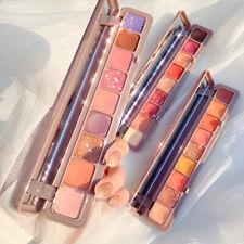 DIKALU Eyeshadow Palette, 9 Shade Glitter Matte Nude Brown Natural Sultry Smokey