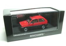 1 43 Minichamps Fiat Panda 45 1980 Red
