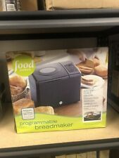 New listing Food Network Programmable Bread Maker Machine Brand New Nib