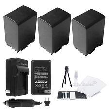 3x BP-828 Battery + Charger for Canon HF-M40 HF-M41 HF-S30 HF-G20 HF-G30