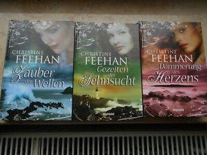 Christine Feehan Dämmerung des Herzens&Zauber der Wellen&Gezeiten der Sehnsucht