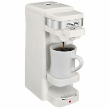 Proctor Silex Single Serve K-Cup Compatible Compact Coffee Maker, White | 49978