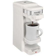 Proctor Silex Single Serve K-Cup Compatible Compact Coffee Maker, White   49978