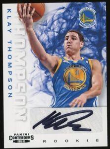 2012-13 Panini Contenders #271 Klay Thompson Warriors RC Rookie AUTO