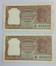 India - 2rs - B5 - Bhattacharya  - AUNC