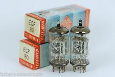 NOS TELEFUNKEN ECF80 6BL8 TUBES for McIntosh MR67 MR65B MR71 Scott 333 355 HKIII