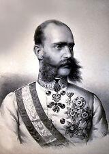 Franz Josef I (1830-1916) , Emperor of Austria , King of Hungary