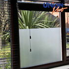 Plain Frost Opaque Privacy  Mirror Solar  Window Tint Film