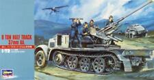 Sd.Kfz 7/2 3,7 cm Flak 36 auf 8t Zgkw. 8 TON HALF TRACK #MT18 1/72 HASEGAWA