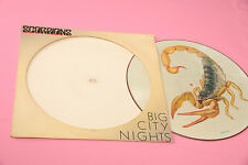 SCORPIONS LP PICTURE DISC BIG CITY NIGHTS ORIG 1984 EX !!!!!!!!!!!!!