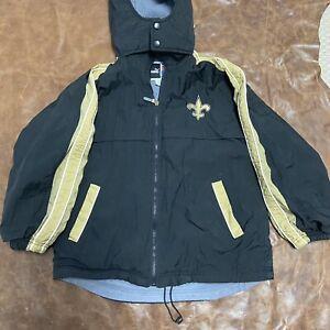 Vintage New Orleans Saints Jacket Youth Medium Puma Nfl