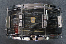 """Ludwig USA CLASSIC MAPLE snaredrum dans """"Vintage Black Oyster"""" - 14x6,5"""""""