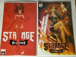 STRANGE ACADEMY #4 & #6 (DAVID NAKAYAMA EXCLUSIVE TRADES VARIANT) ~ Marvel nm