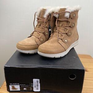 SOREL Explorer Joan Camel Womens Boots ODD SIZES UK9/10 RRP£135