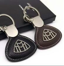 Mercedes Benz MAYBACH Original Keyring Nappa Leather Silk Beige Perfect Gift