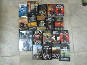 Lot Of 21 Paperback Books By Terry Goodkind