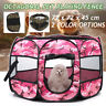 Pet Dog Puppy Cat Tent Playpen Exercise Fence Portable Folding Travel House Cage