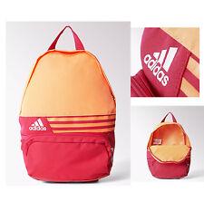 Adidas BP DER Graphic SMALL Orange & Pink Backpack Rucksack School Work Bag