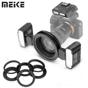 Meike MK-MT24S Macro Twin Lite Flash with Trigger for Sony Camera A9 A7II A7RIII
