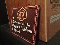 Disney World Monorail Flex Magnet Polynesian Contemporary Magic Kingdom 19.99