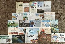 Lot of 23 National Geographic Magazine Double Map Supplements Assorted Themes