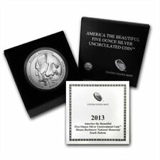 2013-P ATB MOUNT Mt RUSHMORE 5 Oz SILVER SPECIMEN COIN BOX  COA SOLD OUT at MINT