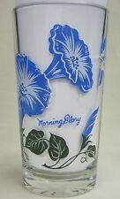 Morning Glory Peanut Butter Glass Glasses Drinking Kitchen Mauzy 73-4