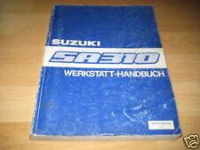 Werkstatthandbuch Suzuki Swift SA310 AA ab Bauj. 1983