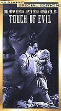 Touch of Evil, Charlton Heston, Janet Leigh, Orson Welles, Vhs