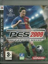 JEUX Play Station 3 PS3 : PES 2009 FOOTBALL ( SONY ) / COMME NEUF / EN FRANCAIS
