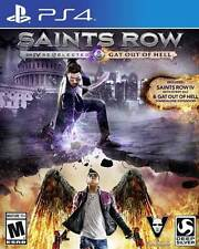 Saints Row 4 Re-Elected + Gat out of Hell PS4 Game BRAND NEW SEALED