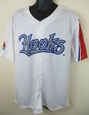 Corpus Christi Hooks BASEBALL MAJOR LEAGUE Jersey PROMO chemise blanche Haut homme XL