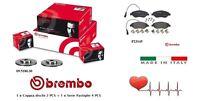 Dischi + Pastiglie Freno anteriori Brembo Alfa Mito Fiat Bravo Lancia Delta III