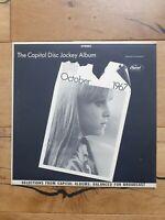 Various The Capitol Disc Jockey Album (Oct 1967) Vinyl LP Album Promo Sampler