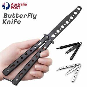 CSGO Rainbow Dragon Butterfly Knife Metal Folding Practice Trainer Training Tool
