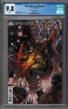Dark Nights Death Metal #1 Doug Mahnke 1:25 CGC 9.8 NM/MT BATMAN SHREDS THE AXE!