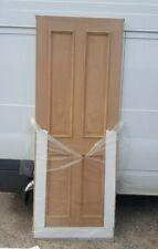 """Oak Internal Door DAMAGED 4 Panel 30"""" Veneered"""