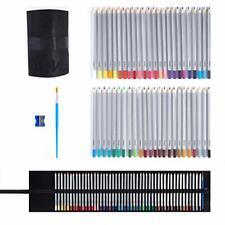 Ooku Artist Pro Watercolor Pencils Set 48 Colors / 51 Pc Full Kit | 48 Piece
