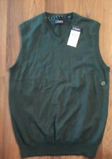 Chaps Mens Vest NEW Small Green With Issue Retail $45